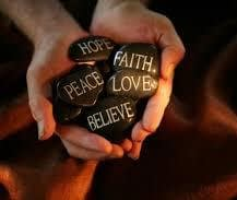holding rocks